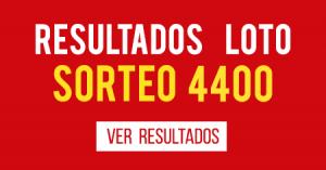 Resultados Loto 4400
